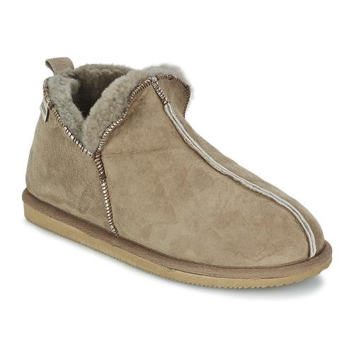 Shoes Men Slippers Shepherd ANTON Beige