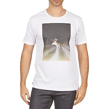 material Men short-sleeved t-shirts Kulte BALTHAZAR PLEIN PHARE 101931 BLANC White