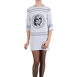 material Women Short Dresses Brigitte Bardot BB43121 Grey