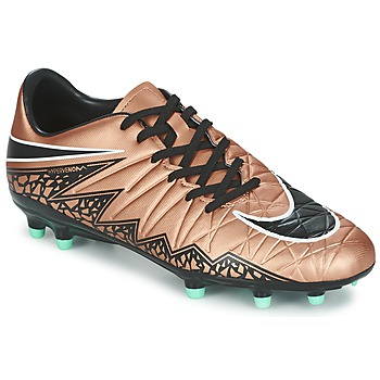 Shoes Men Football shoes Nike HYPERVENOM PHELON II FG Bronze