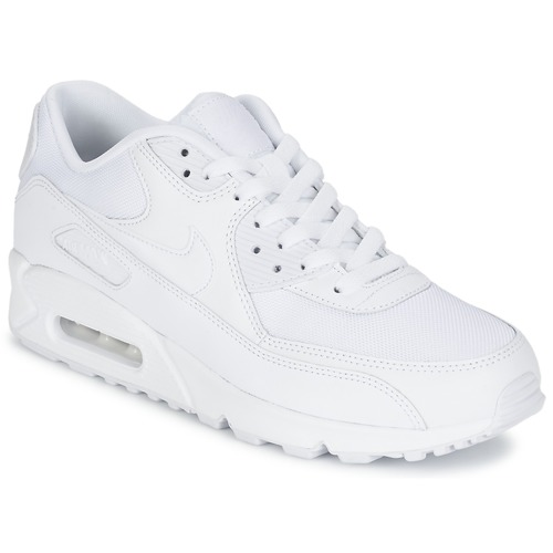 new styles 4ff0d 90e8d Shoes Men Low top trainers Nike AIR MAX 90 ESSENTIAL White