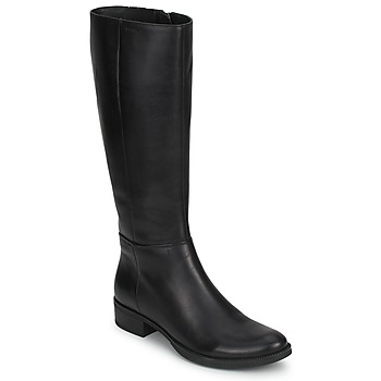 Shoes Women Boots Geox MENDI STIVALI BASIC Black