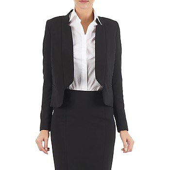 material Women Jackets / Blazers Lola DOUBLE VAEL Black