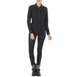 material Women slim jeans Lee SCARLETT Black
