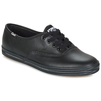 Shoes Women Low top trainers Keds CHAMPION LEATHER Black