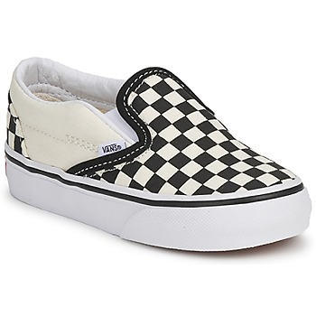 Shoes Children Slip ons Vans CLASSIC SLIP ON KIDS Black / White