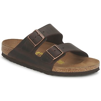 Shoes Men Mules Birkenstock ARIZONA LARGE FIT Habana