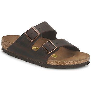 Shoes Men Mules Birkenstock ARIZONA LARGE FIT Habana