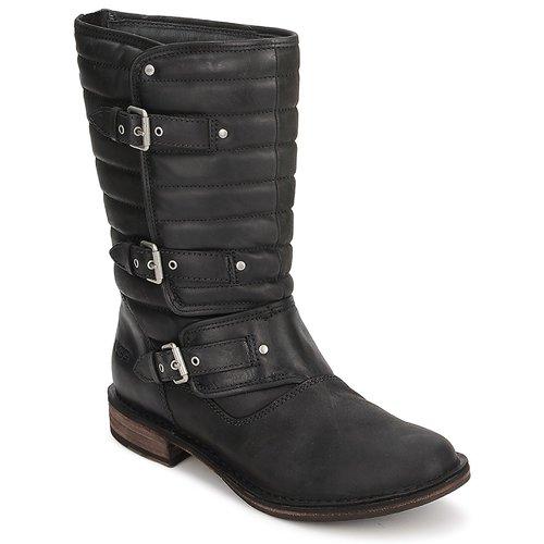 Shoes Women Mid boots UGG TATUM  black