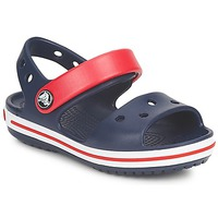 Shoes Children Sandals Crocs CROCBAND SANDAL Marine / Red