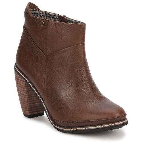 Shoes Women Ankle boots Feud LIGHT Brown