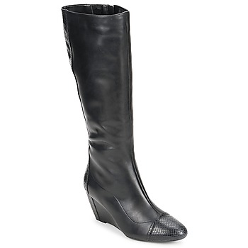 Shoes Women Boots Rockport NELSINA TALL BOOT Black