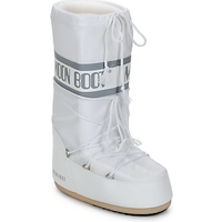 Shoes Women Snow boots Moon Boot CLASSIC White / Silver