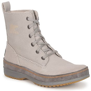 Shoes Men Mid boots Sorel  Grey