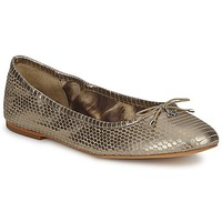 Shoes Women Ballerinas Sam Edelman FELICIA Light / Gold / Metallic / Snake