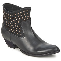 Shoes Women Mid boots Friis & Company DUBAI FLIC Black
