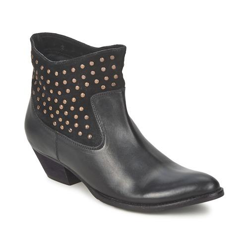 Shoes Women Ankle boots Friis & Company DUBAI FLIC Black