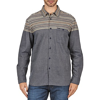 material Men long-sleeved shirts Element LENOX Grey