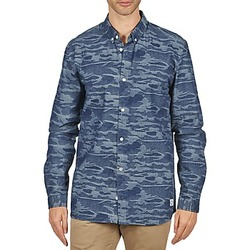 material Men long-sleeved shirts Suit ROD Blue