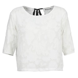 material Women Blouses Betty London DEARTBEAT White