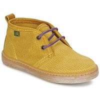 Shoes Boy Mid boots El Naturalista KEPINA Yellow