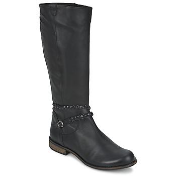 Shoes Women Boots So Size BERTOU Black