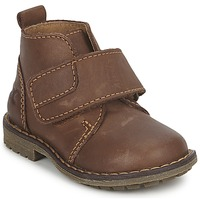 Shoes Boy Mid boots Citrouille et Compagnie MELDUNE Brown