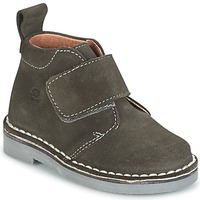Shoes Children Mid boots Citrouille et Compagnie ISINI Grey