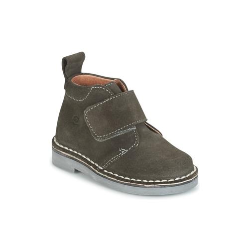 Shoes Children Mid boots Citrouille et Compagnie ISINI Grey