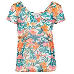 material Women short-sleeved t-shirts LTB SEHITABLE Multicoloured