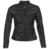 material Women Leather jackets / Imitation le Moony Mood IDESCUNE Black