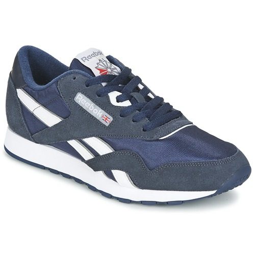 7f27cb2471dcb Shoes Men Low top trainers Reebok Classic CLASSIC NYLON Blue
