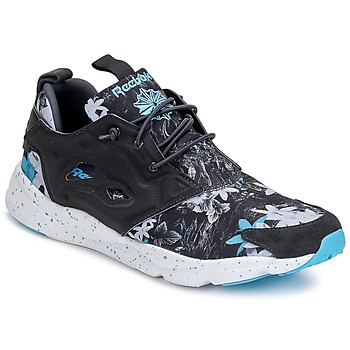 Shoes Men Low top trainers Reebok Classic FURYLITE NP Grey / Blue
