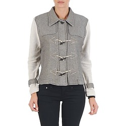 material Women Blouses Diesel G-JAYA-A SWEAT-SHIRT Grey