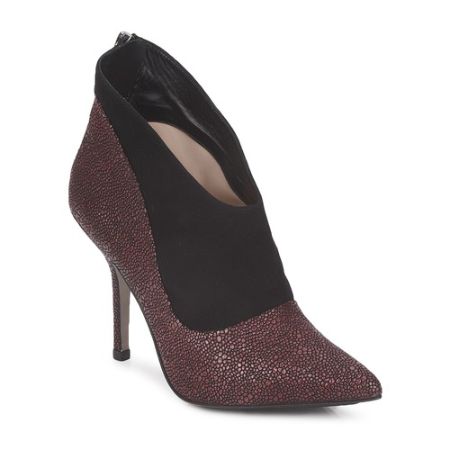 Shoes Women Low boots Paco Gil BILINE Bordeaux / Black