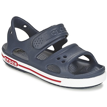 Shoes Children Sandals Crocs CROCBAND II SANDAL PS Marine / White