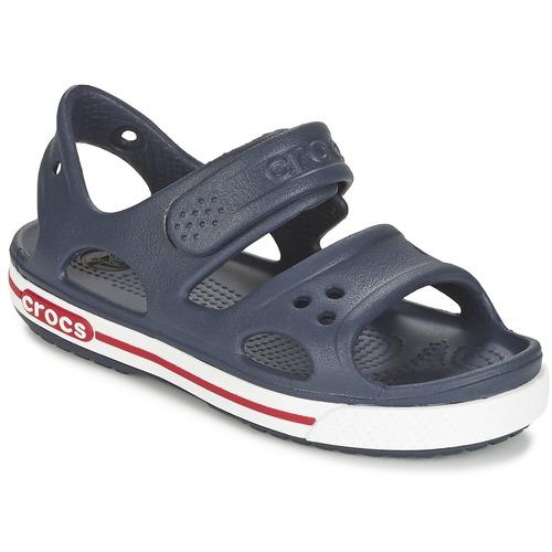 Shoes Children Clogs Crocs CROCBAND II SANDAL PS Marine / White