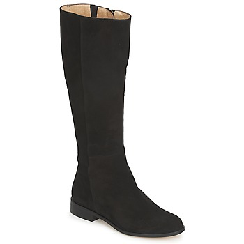 Shoes Women Boots Fericelli LUCILLA VELOURS Black