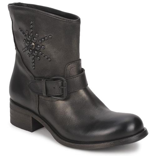 Shoes Women Mid boots JFK OSSIR Black