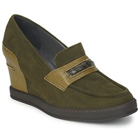 Shoes Women Loafers Stéphane Kelian GARA Green