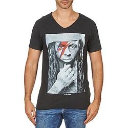 material Men short-sleeved t-shirts Eleven Paris KAWAY M MEN Black