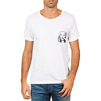 material Men short-sleeved t-shirts Eleven Paris KMPOCK MEN White