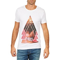 material Men short-sleeved t-shirts Eleven Paris MIAMI M MEN White