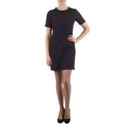 material Women Short Dresses Eleven Paris TOWN WOMEN Black