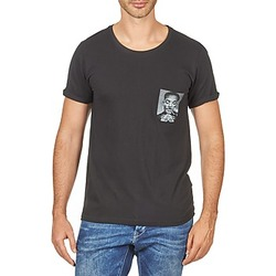 material Men short-sleeved t-shirts Eleven Paris WOLYPOCK MEN Black
