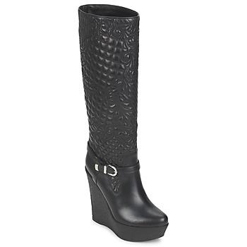 Shoes Women Boots Versace DSL909R Black