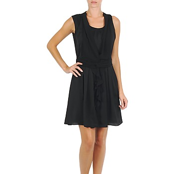 material Women Short Dresses Fornarina CHRISSY Black