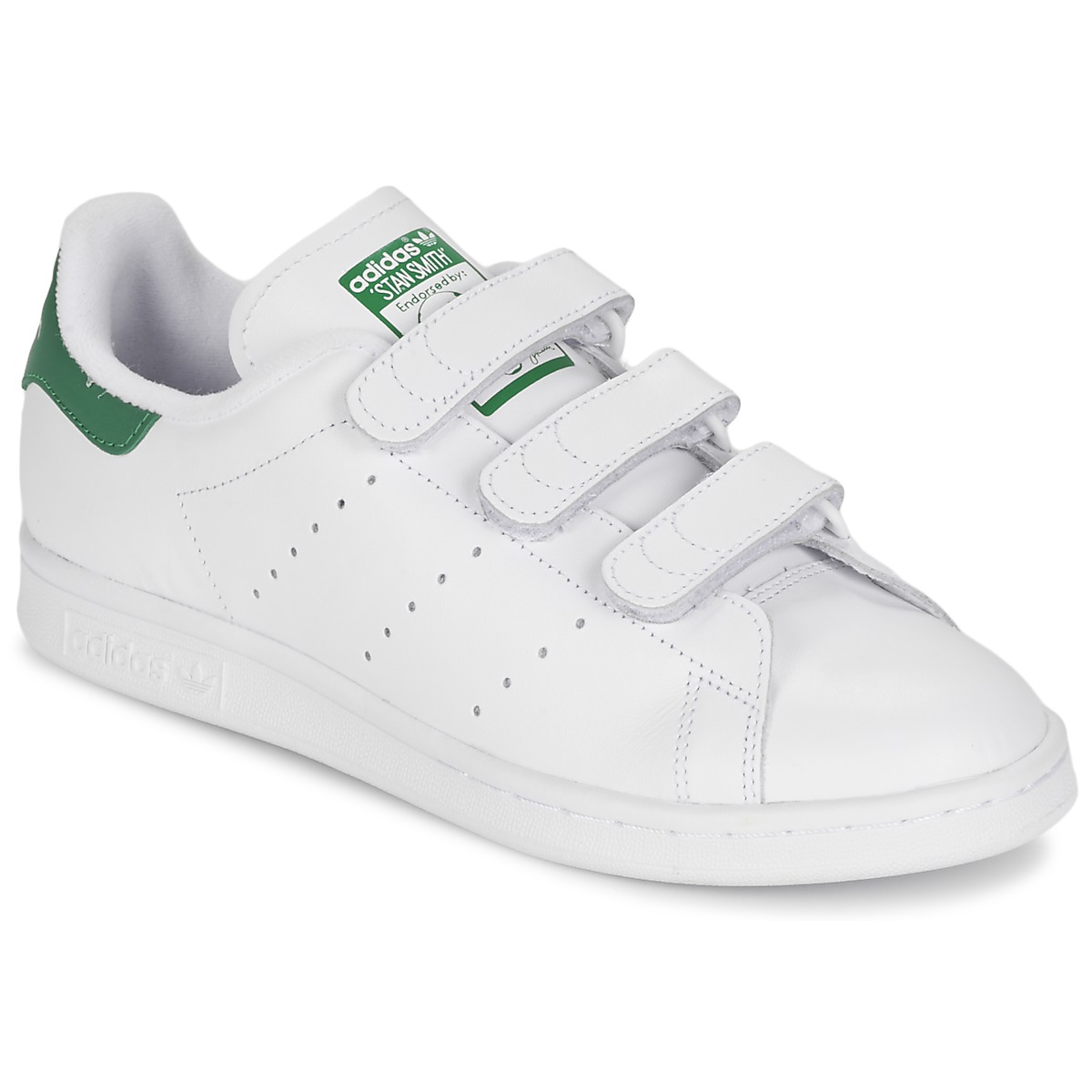 8e2ad9264489 adidas Originals STAN SMITH CF White / Green - Free delivery | Spartoo NET  ! - Shoes Low top trainers USD/$108.00