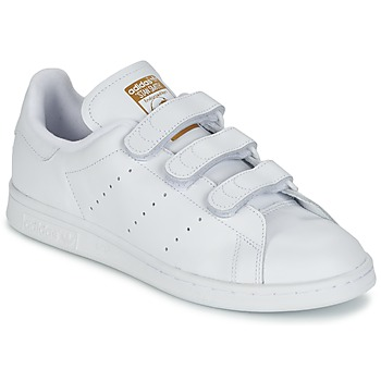 Shoes Low top trainers adidas Originals STAN SMITH CF White