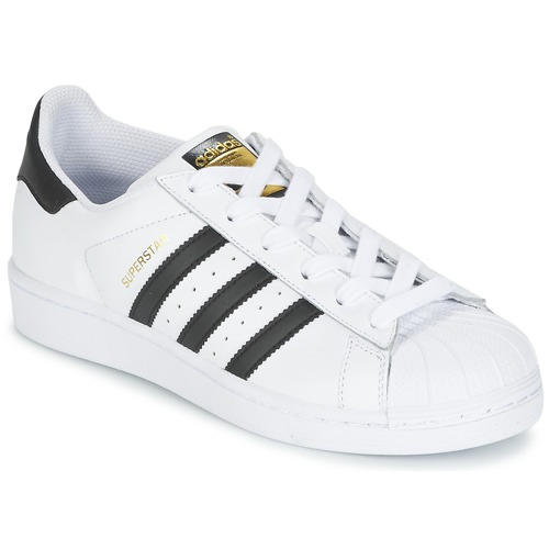 57024c31d3 adidas Originals SUPERSTAR White   Black - Free delivery